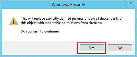 13_6 Настройка прав доступа для папки FTP