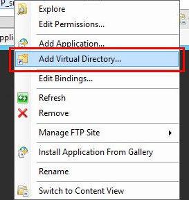 8_1 - Создание и настройка виртуальной папки FTP