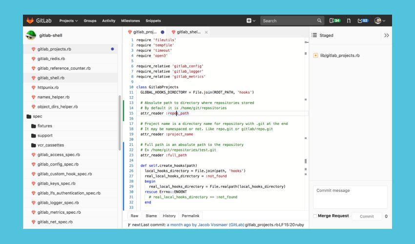 Gitlab - какие сервисы рекомендует Инклиент для web-разработки