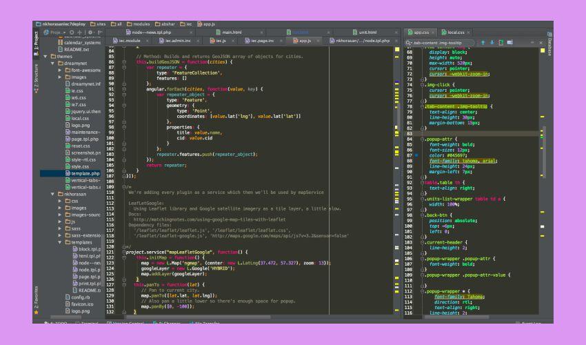 PhpStorm - какие сервисы рекомендует Инклиент для web-разработки